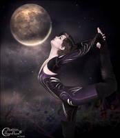 Danse avec la lune by cflonflon
