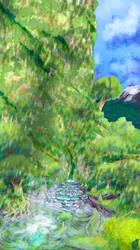 Yggdrasil Island 4 - Day by SniperGirl0907
