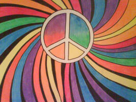 peace by hippietree