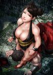 Chun Li In the End by magion02