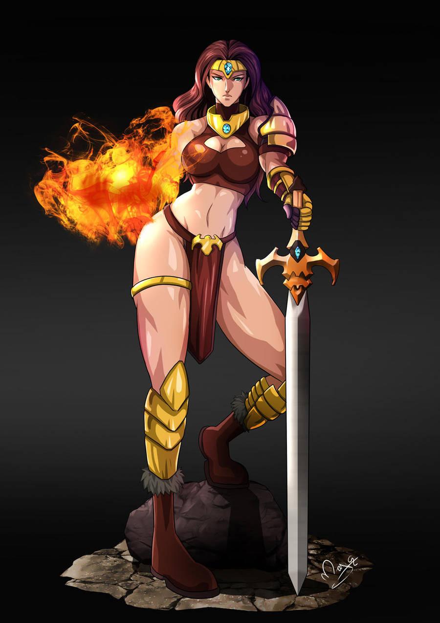 Lady Immolatasia by magion02