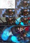 League of Legends Ahri progress by magion02