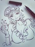 Koala One Piece doodle by magion02