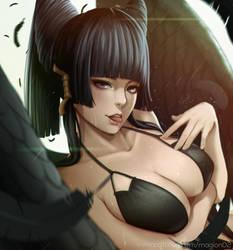 Dead or alive Nyotengu by magion02