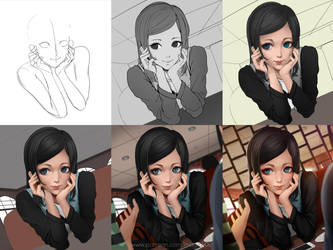 Ms.Assistant Muna step by step by magion02