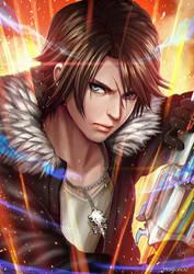 Final Fantasy VIII Squall Leonhart by magion02