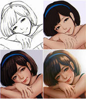Ms Assistant 21 Kaede Step by Step by magion02