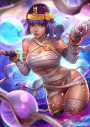 Street Fighter V Menat by magion02