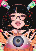 Eyeball Kabochan by magion02