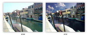 VENICE re-touch by messymedia
