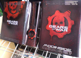 Gears of War Console by messymedia