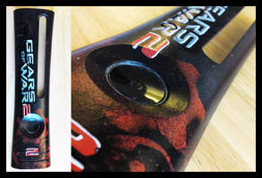 Gears of War 2 Faceplate by messymedia