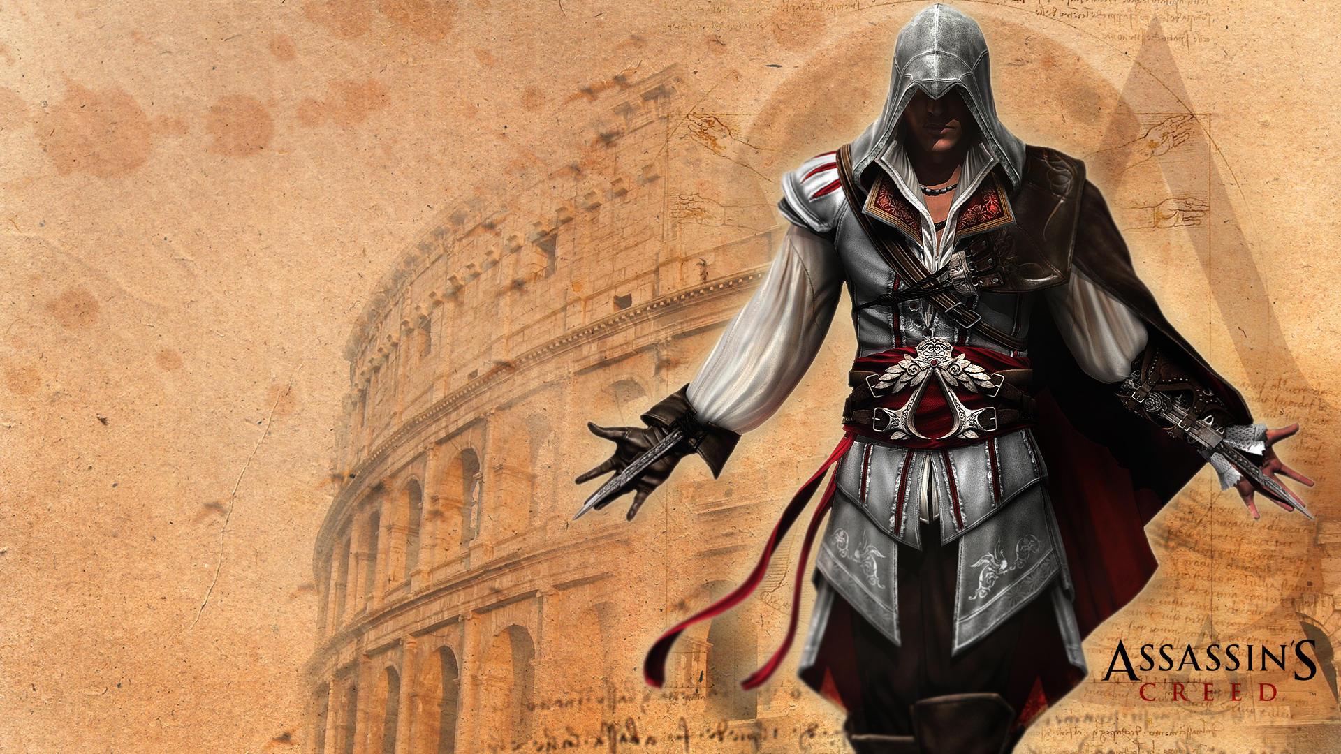Assassins Creed Ezio wallpaper by messymedia