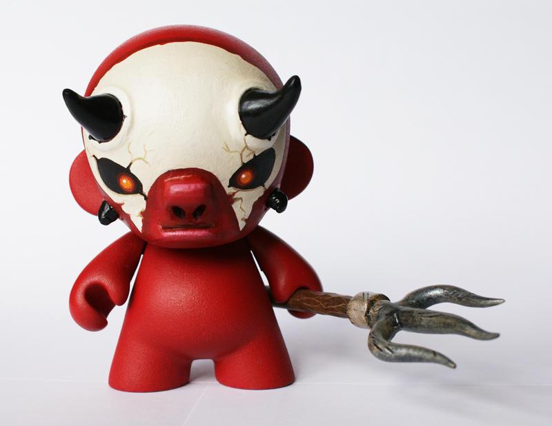 Mini Munny Demon by messymedia