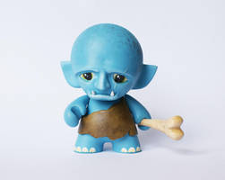 Mini Munny Ogre by messymedia