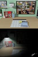 3D Desk by InochiToHi