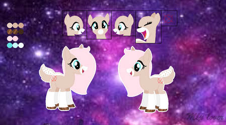 My new oc reference (mlp) by Lincathelynx