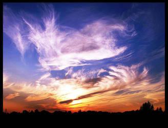 sunset by Mefalka