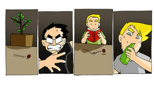 A Spunch Comics one-shot : D and D Chaos by Paka by spunchcomics