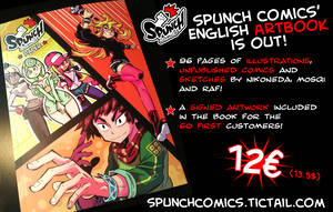 Spunch Comics' artbook is finally OUT!! by spunchcomics