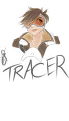 Tracer Crayon Style by FactionFighter
