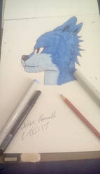 The Blue Dog. (Read Desc) by Chara04RBLX