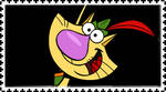 Nature Cat (character) stamp by FlainYesFourzeNo