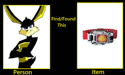 What if Ace Bunny found the Blay Buckle? by FlainYesFourzeNo