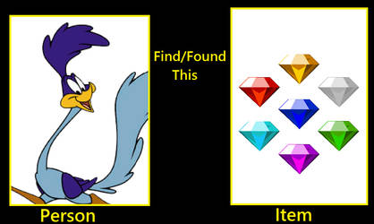 What if the Road Runner found the Chaos Emeralds? by FlainYesFourzeNo