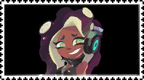Marina (Splatoon 2) stamp by FlainYesFourzeNo