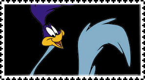 Road Runner stamp by FlainYesFourzeNo