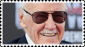 Stan Lee stamp by FlainYesFourzeNo