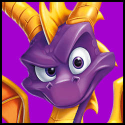 (F2U JUMBO ICON) Re-Spyro by FlainYesFourzeNo