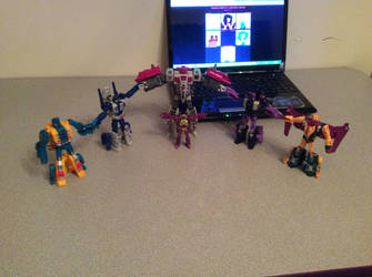 PotP Terrorcons: Fully complete by FlainYesFourzeNo
