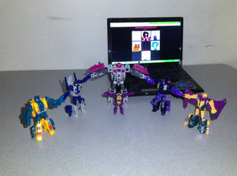 PotP Terrorcons: Fully complete (+light) by FlainYesFourzeNo