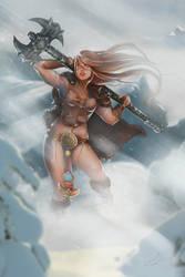 - BARBARIAN BEAUTY - Diablo 3 by laurasardinha
