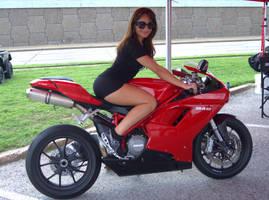 Ducati Girl by N1CE-ONE