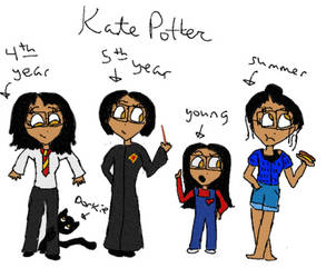 Request - Kate Potter by LadyClassical