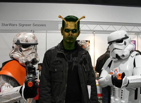 Alien monsterface by theboss2