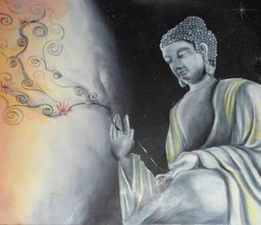 Buddha by maytawlli