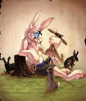 Curiosity Killed the Bunny by FrazeyBCrazy
