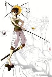 One Piece OC by HumDrumBuzz