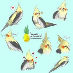 pineapple boi! by karmicon