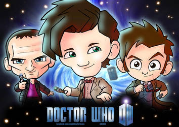 Doctor Who by AngelCrusher