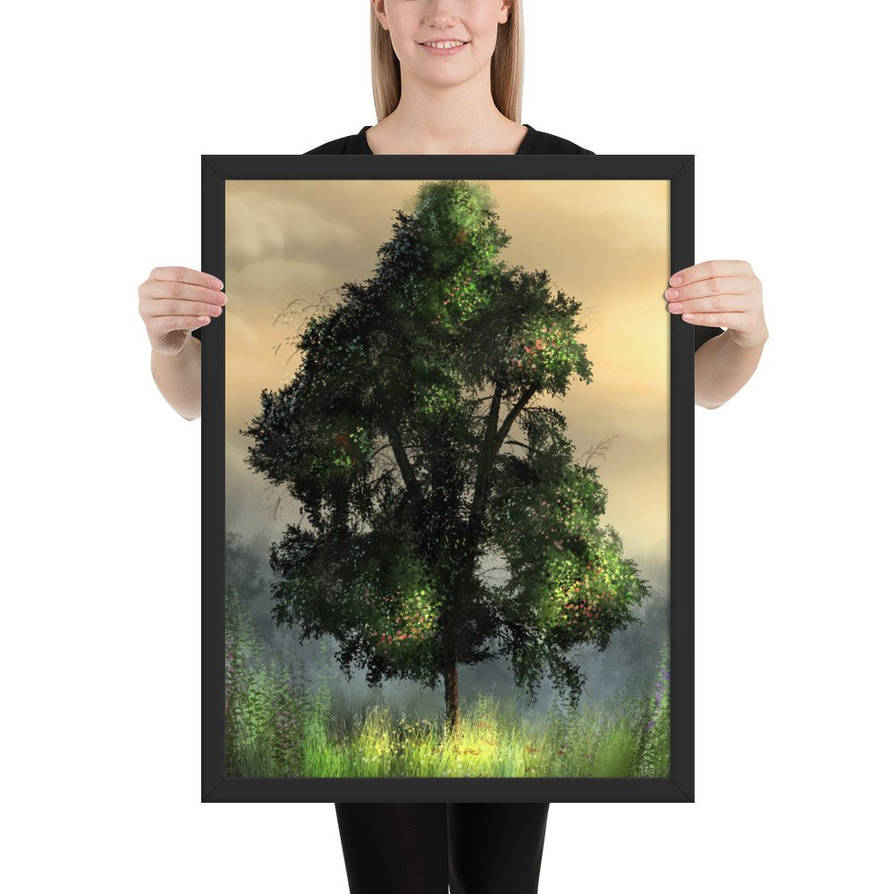 Nature's Meadow Framed Poster