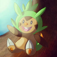 Chespin by Sparkle489