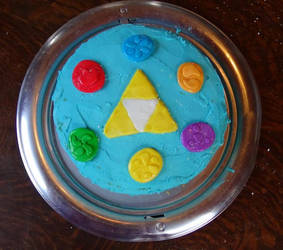 Chamber of the Sages cake by eightcrows