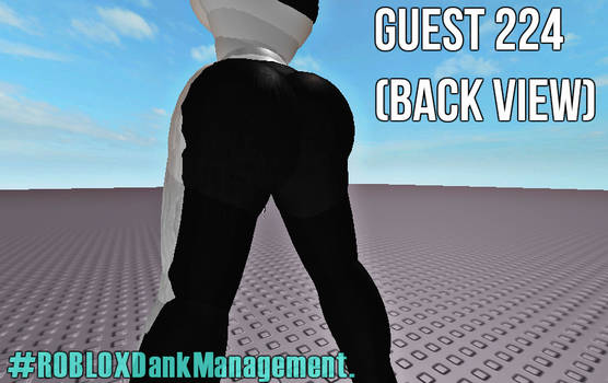 ROBLOX Guest 224 (Back View) by ROBLOXDankManagement