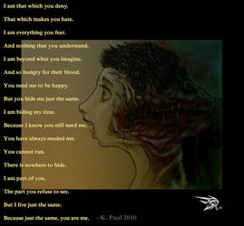 I am you... by darthhorus
