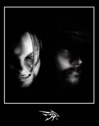 Two Sides of the Same Coin by darthhorus